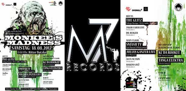 KC Da Rookee August German Mini Tour – Monkee's Madness – KC Da Rookee @ Ritter Butzke, Berlin – Saturday, August 18th 2012!!