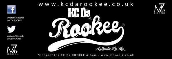 KC Da Rookee filming two tracks at the end of September