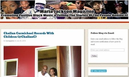 USA Site Maria Jackson Magazine Blogs Challan Carmichael