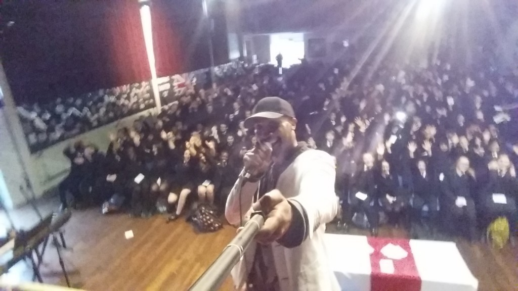 Challan Carmichael Preforms at Ladybridge High School